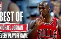 Basketbolun Efsanesi Michael Jordan'dan Harika Atışlar