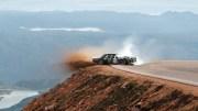 Drift Ustasından Dağların Yamaçlarında Tehlikeli Performans