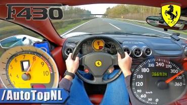 Ferrari F430 ile Otobanda 310 km Hız Denemesi