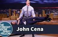 John Cena'dan İnsanlı Deadlift Şovu (İnanılmaz Performans)