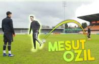 Mesut Özil'den Klas Hareketler ve Doğal Yetenekleri