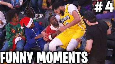 NBA Sahalarında Yaşanan En Komik Anlar