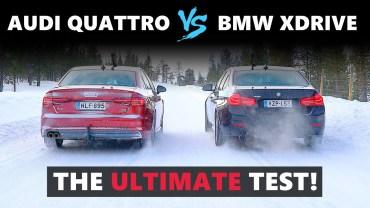 Audi, BMW ve Jaguar'dan Karda Kışta Performans Testi