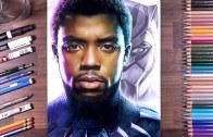Chadwick Boseman Tablosu (Black Panther)