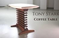 Sıradışı Tasarımıyla Tony Stark Tarzı Masa Yapımı