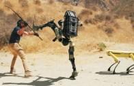 Iskaya İmkan Vermeyen Savaş Robotları