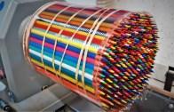 Karşınızda Renkli Kalemler İle Küre Yapımı!