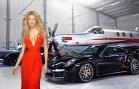Kolombiyalı Güzel Shakira ve Lüks Hayatı
