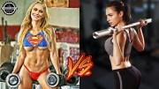Captain Marvel ve Wonder Woman – Spor Antrenmanları