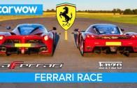 Ferrari Enzo ve LaFerrari ile Kısa Mesafe Kapışması