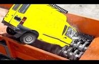 Hurdaları Paramparça Eden Araba Dönüşüm Makineleri