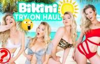 Sarışın Kat'den Nefes Kesen Bikini Şovu Karşınızda!