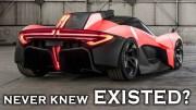 Varlığından Haberinizin Dahi Olmadığı Süper Arabalar