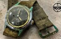 İkinci Dünya Savaşını Atlatmış Askeri Saat Restorasyonu