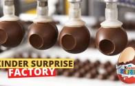 Ünlü Çikolata Markasının Fabrikası – Efsane Makineler