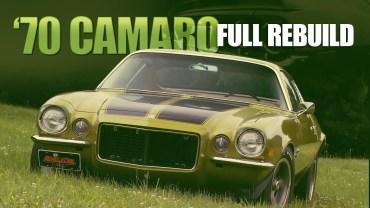 1970 Chevrolet Camaro – Baştan Sona Restorasyon Anları