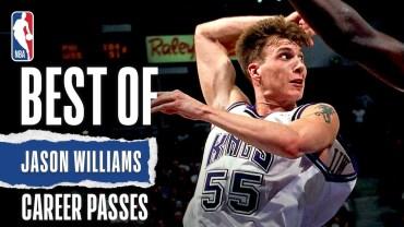 Jason Williams – NBA Kariyerinin En Güzel Pasları!