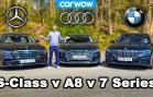 Mercedes vs BMW vs Audi – Efsane Araba Karşılaştırması