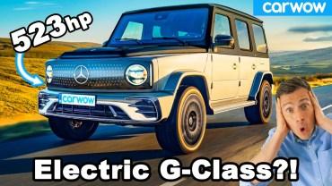 Karşınızda Mercedes EQG – 523 Beygirlik Elektrikli Araç