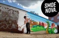 Oyun Parkı Duvarlarına Yapılan Grafiti Şovu Karşınızda