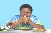 Sevimli Çocuklar Etsiz Yemekler Deneyerek Yorumluyor!