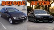 BMW 335i Modifiyesi – Şahane Bir Eser Ortaya Çıkıyor!