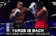 Anthony Yarde – Canavar İlk Raundda İşi Bitiriyor!