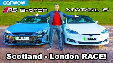 Audi E-Tron ve Tesla Model S Performans Karşılaştırması