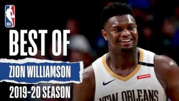 Zion Williamson – 2019/20 Sezonuna Damga Vurduğu Anlar
