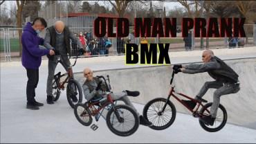 Bisiklet Tutkusunu Gösteren Komik Yaşlı Adam Şakası!