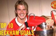 David Beckham – Futbolcunun Rakip Ağları Sarsan Golleri