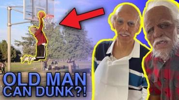 Komik Yaşlı Adam Şakası ile Basket Anları Karşınızda