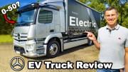 Mercedes eActros – Elektrikli Motora Sahip Kamyon!