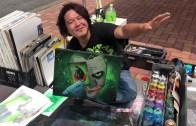 Sprey Boya Sanatı ile Mükemmel Joker Görseli Karşınızda