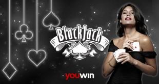 Youwin Blackjack oynanış anlatımı.