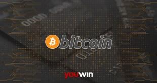 Youwin Bitcoin ile ödeme.