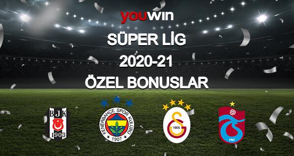Youwin Süper Lig bonusları.