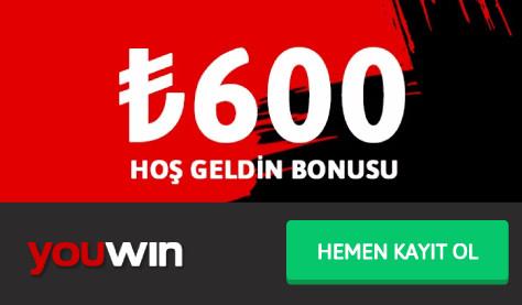 Youwin Hoş Geldin Bonusu