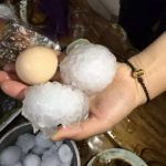 Egg-Sized Hail in China