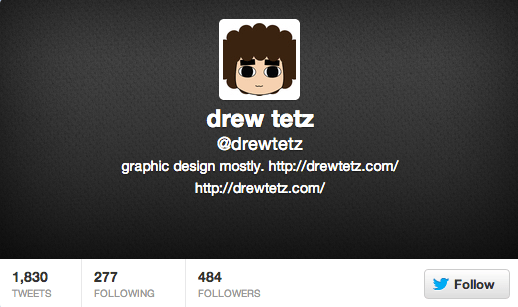 Drew Tetz on Twitter