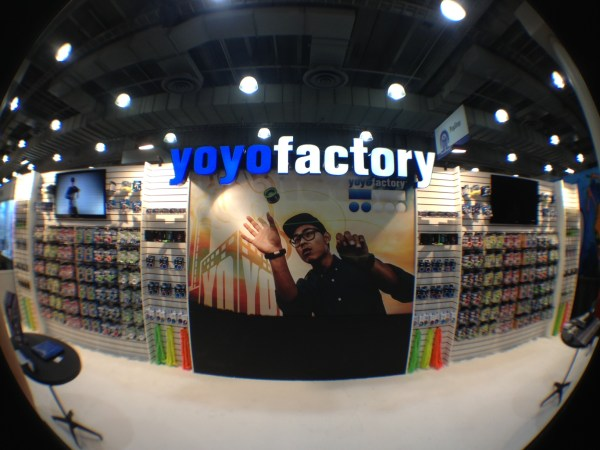 YoYoFactory at 2013 International Toy Fair in New York Booth 4845