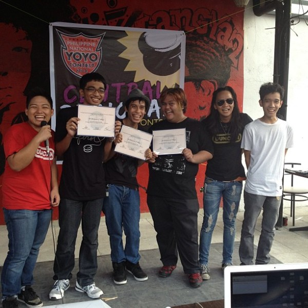 2013 Philippine Central Regaional YoYo Contest 3A Division Winners