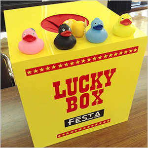44festa lucky draw box