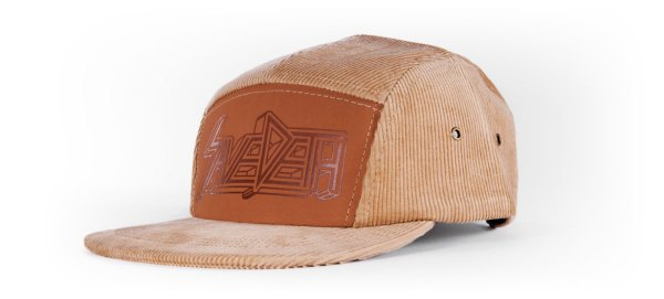 Save Deth 5 Panel Corduroy Hat
