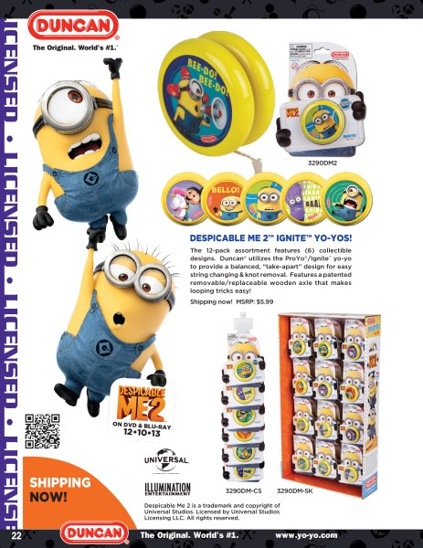 Duncan Toys 2014 Catalog - Despicable Me 2