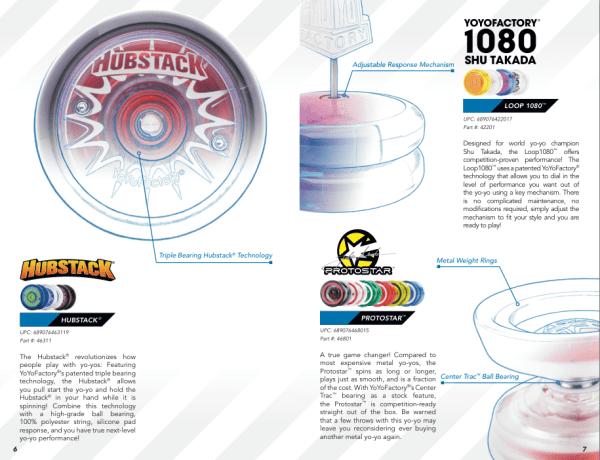 YoYoFactory 2014 Catalog - Hubstack YoYo