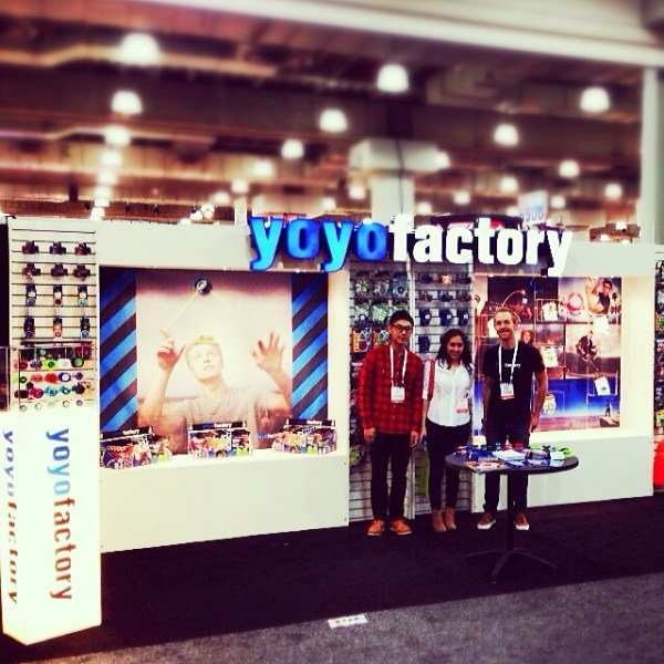 YoYoFactory at 2014 International Toy Fair