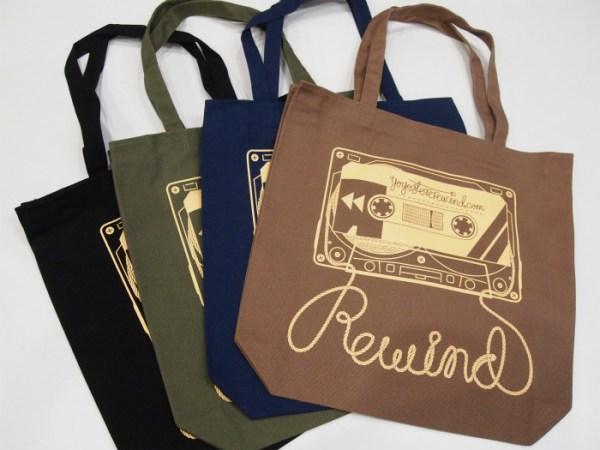 YoYo Store Rewind Tote Bag