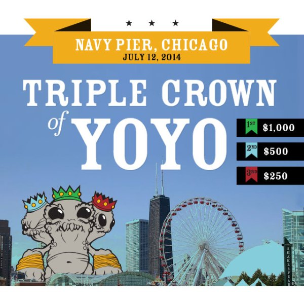 Triple Crown of YoYo 640