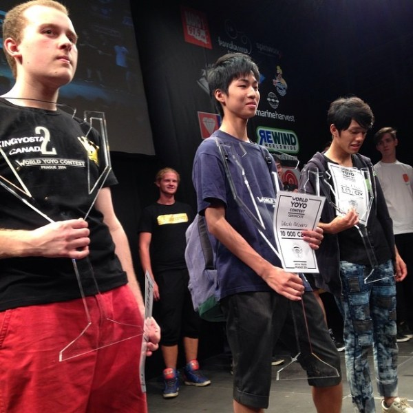 Takeshi Matsuura World YoYo Champion